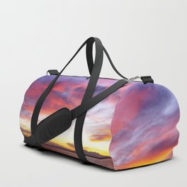 breathtaking sunset Duffle Bag