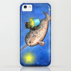 Hanging Stars with a Friendly Narwhal iPhone 5c Slim Case
