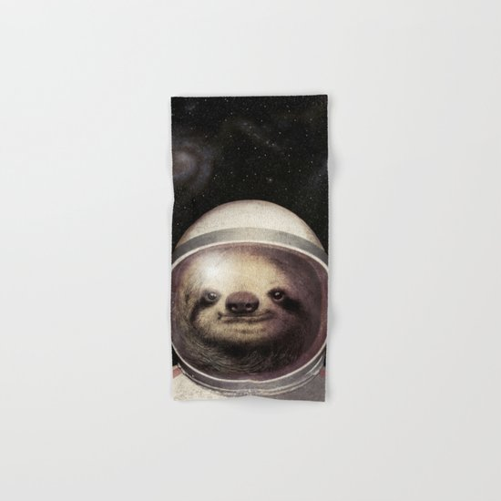 Space Sloth  Hand & Bath Towel