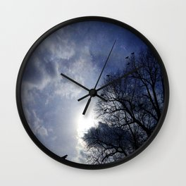 Between Night And Day Wall Clock