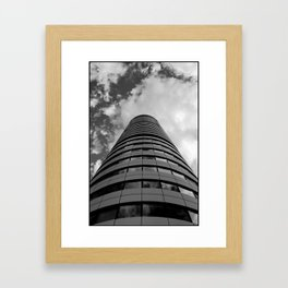 Keep Your Aim High (Bridgewater Place) Framed Art Print