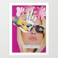 Le Saint-Tropez Art Print