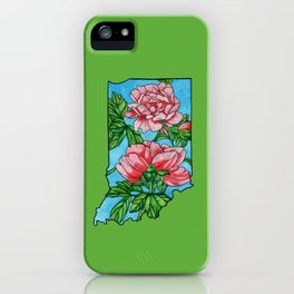 Indiana Flower iPhone Case