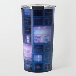 Time to rest our heads in our luxury suites Travel Mug