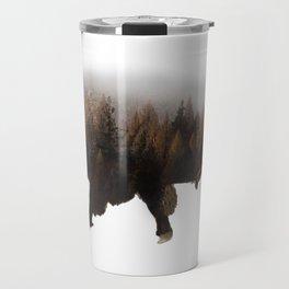 Forest Bison Travel Mug