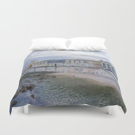 Syracuse Waterfront Duvet Cover