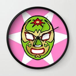 la luchador Wall Clock