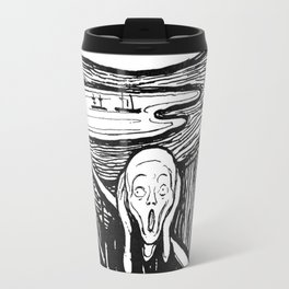 "Edvard Munch ""The Scream"", 1895 Travel Mug"