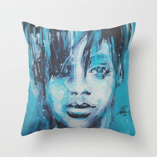 Rihanna Throw Pillow
