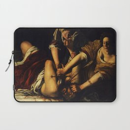 JUDITH BEHEADING HOLOFERNES - GENTILESCHI Laptop Sleeve