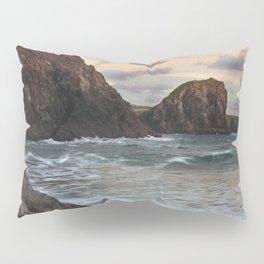 Kynance Cove, The Lizard, Cornwall, England, United Kingdom Pillow Sham