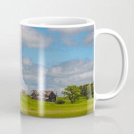 Jumbled Abandoned Farm, Burleigh County, North Dakota 3 Coffee Mug