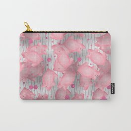 Pink Piggies Carry-All Pouch