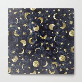 Midnight Stars Metal Print