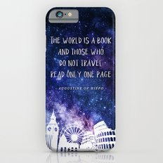 The world is a book Slim Case iPhone 6