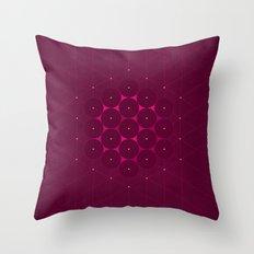 Metatron's Cube Throw Pillow