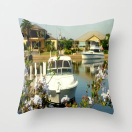 Backyard Bliss - Paynesville - Australia Throw Pillow