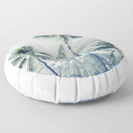 Reef palms Floor Pillow