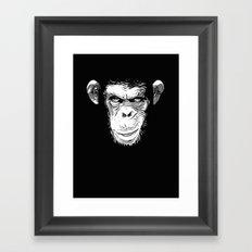 Evil Monkey Framed Art Print