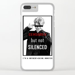 BTS Rapmonster Censored Clear iPhone Case