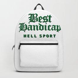 Best Handicap - Hell Sport - Green Backpack