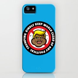 D Dump iPhone Case
