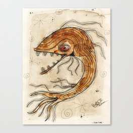 Fish Time Canvas Print