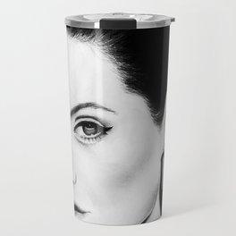 Angelina Jolie Portrait Travel Mug