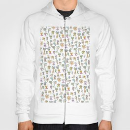 Scribbehead_Montage of Characters Hoody