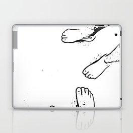 Feet on the sand Laptop & iPad Skin