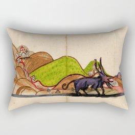 Creature Rectangular Pillow