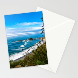 Pacific View - Coastal Scenery in Washington State Stationery Cards