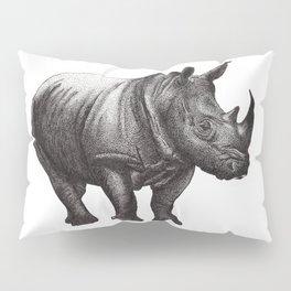Rhinoceros Pillow Sham