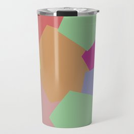 Colliding Colors Travel Mug