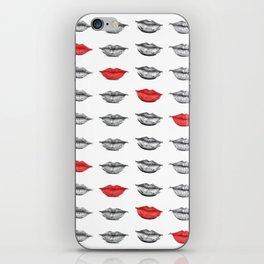 Red Stripe iPhone Skin
