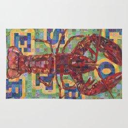 Lobster No. 2 (Nephropidae) Rug