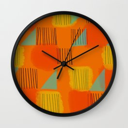 Flags 2 Wall Clock
