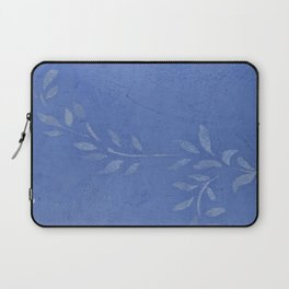 Blue Ivy Vine - Pretty - Rustic - Floral - Corbin Henry Laptop Sleeve