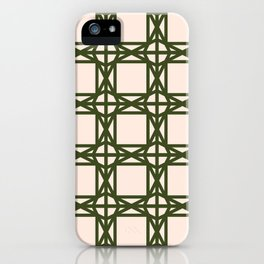 DG GEOMETRIC – KHAKI iPhone Case