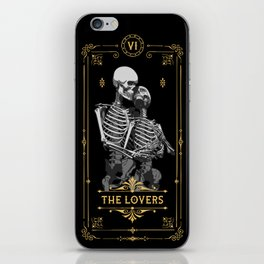 The Lovers VI Tarot Card iPhone Skin