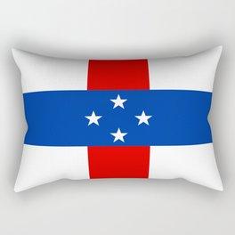 Dutch Caribbean Flag Rectangular Pillow
