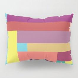 Color Rods 5 Pillow Sham