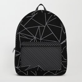 Ab Lines 45 Grey and Black Backpack