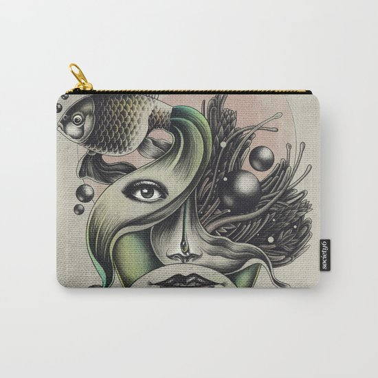 Fish Tale Carry-All Pouch