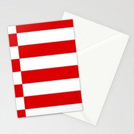flag of bremen Stationery Cards