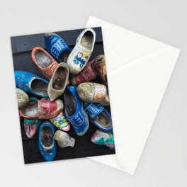 Vintage clogs Stationery Cards