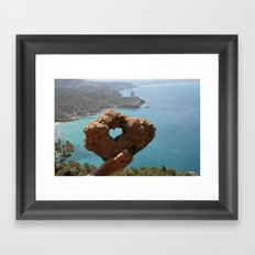 heart Framed Art Print