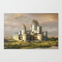 WhiteCastle Canvas Print