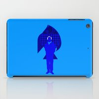 karl iPad Cases featuring Karl Stromberg by Vector Vectoria