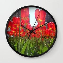 Park LAv. Wall Clock